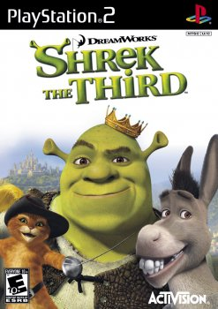 картинка Shrek The Third (PS2, б/у, англ.) от магазина Usenextgen