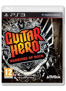 картинка Guitar Hero: Warriors of Rock (PS3, б/у, англ.) от магазина Usenextgen