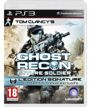 картинка Tom Clancy's Ghost Recon: Future Soldier Signature Edition (PS3, б/у, рус.) от магазина Usenextgen