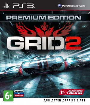 картинка GRID 2 [Premium edition] (PS3, б/у, англ.) от магазина Usenextgen