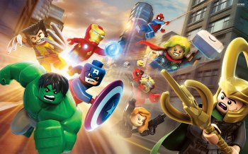 картинка LEGO Marvel Super Heroes (PS4, б/у, англ.) от магазина Usenextgen