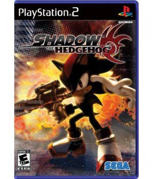 картинка Sonic Shadow The Hedgehog (PS2, б/у, англ.) от магазина Usenextgen