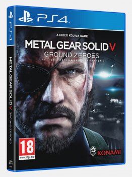 картинка Metal Gear Solid V: Ground Zeroes (PS4, б/у, рус.) от магазина Usenextgen