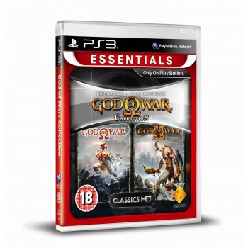 картинка God of War Collection [Essentials] (PS3, б/у, рус.) от магазина Usenextgen