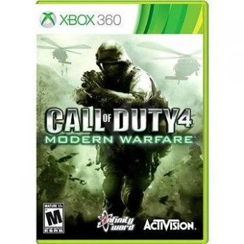 картинка Call of Duty 4 Modern Warfare (Xbox 360, б/у, англ.) от магазина Usenextgen
