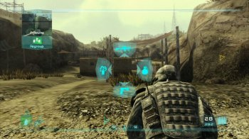 картинка Tom Clancy's Ghost Recon: Advanced Warfighter 2 (PS3, б/у, англ.) от магазина Usenextgen