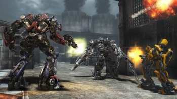 картинка Transformers: Dark of the Moon (PS3, б/у, англ.) от магазина Usenextgen
