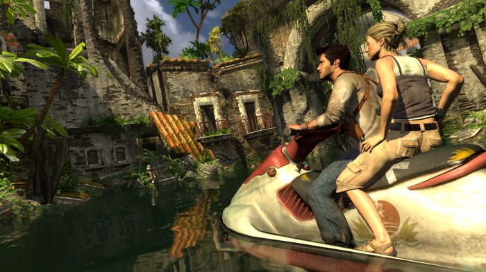 картинка Uncharted: Drake's Fortune (PS3, б/у, англ.) от магазина Usenextgen