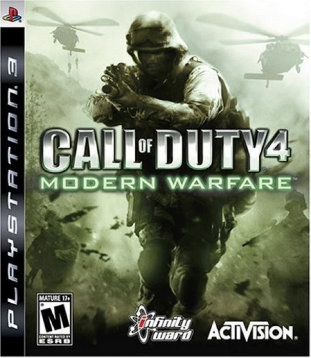 картинка Call of Duty 4 Modern Warfare (PS3, б/у, англ.) от магазина Usenextgen