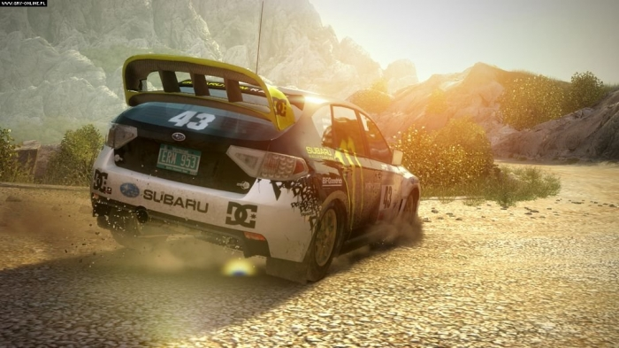 картинка Colin McRae DIRT 2 (PS3, б/у, англ.) от магазина Usenextgen