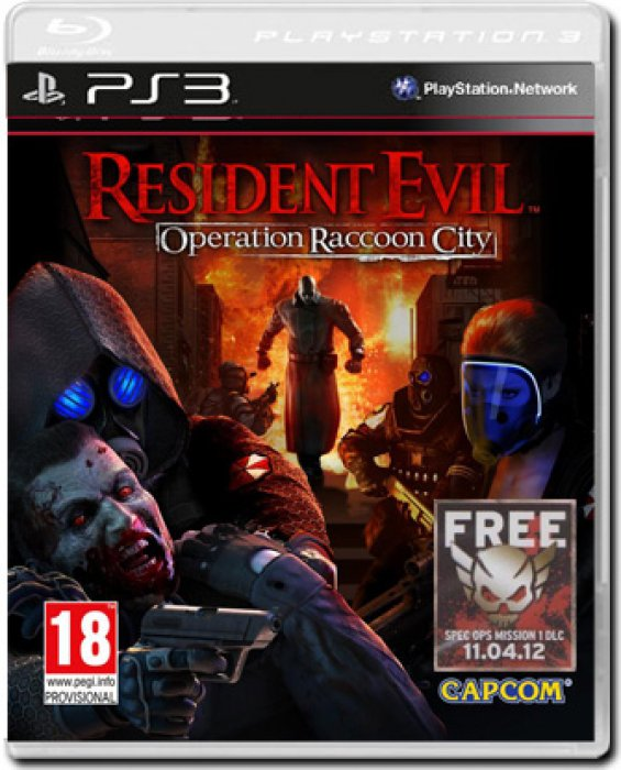 картинка Resident Evil Operation Racoon City (PS3, б/у, рус.) от магазина Usenextgen