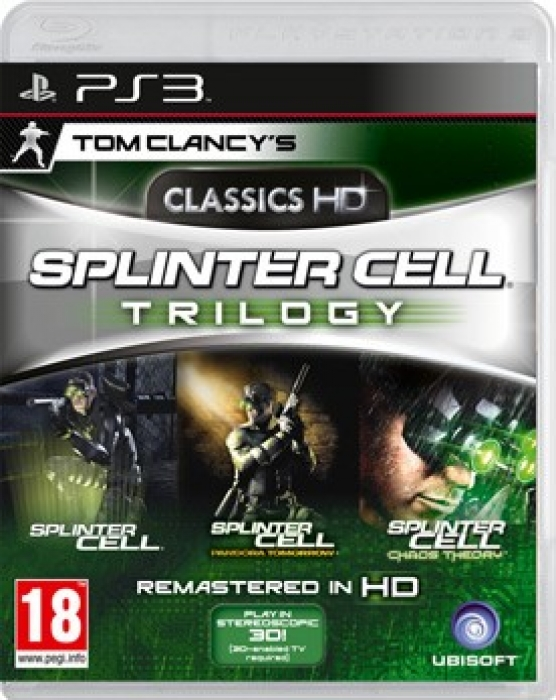 картинка Tom Clancy's Splinter Cell Trilogy Classics HD (PS3, б/у, англ.) от магазина Usenextgen