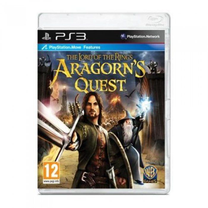 картинка The Lord of the Rings: Aragorn's Quest (PS3, б/у, англ.) от магазина Usenextgen