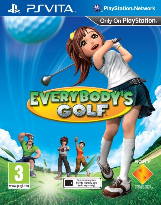 картинка Everybody`s Golf (VITA, б/у, англ.) от магазина Usenextgen