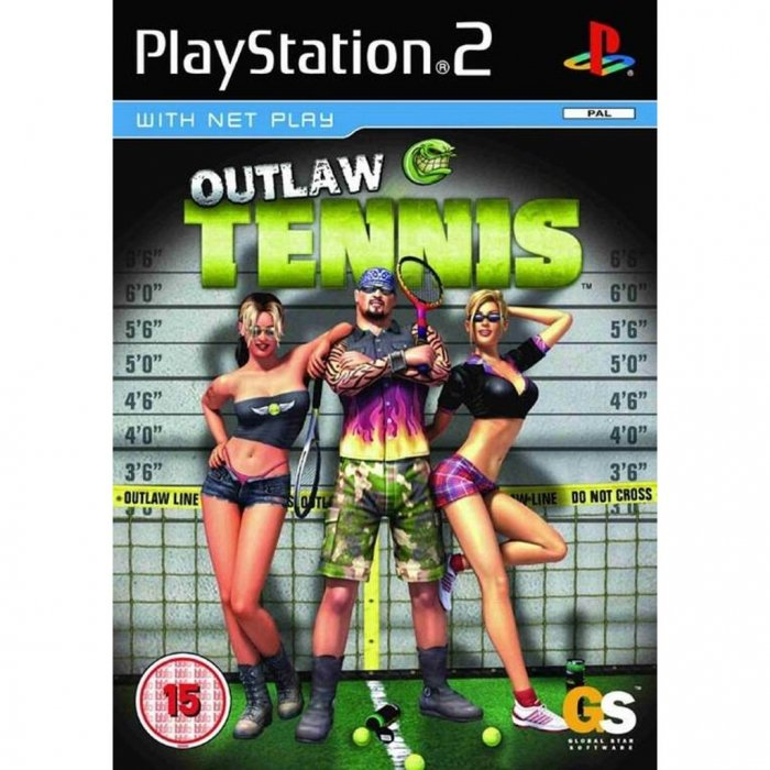 картинка Outlaw Tennis (PS2, б/у, англ.) от магазина Usenextgen