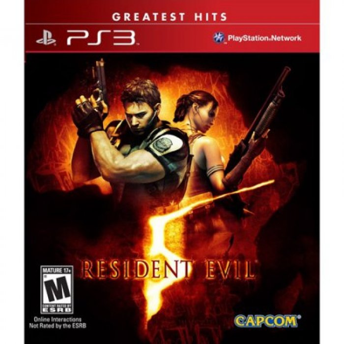 картинка Resident Evil 5 [Greatest Hits] (PS3, б/у, англ.) от магазина Usenextgen