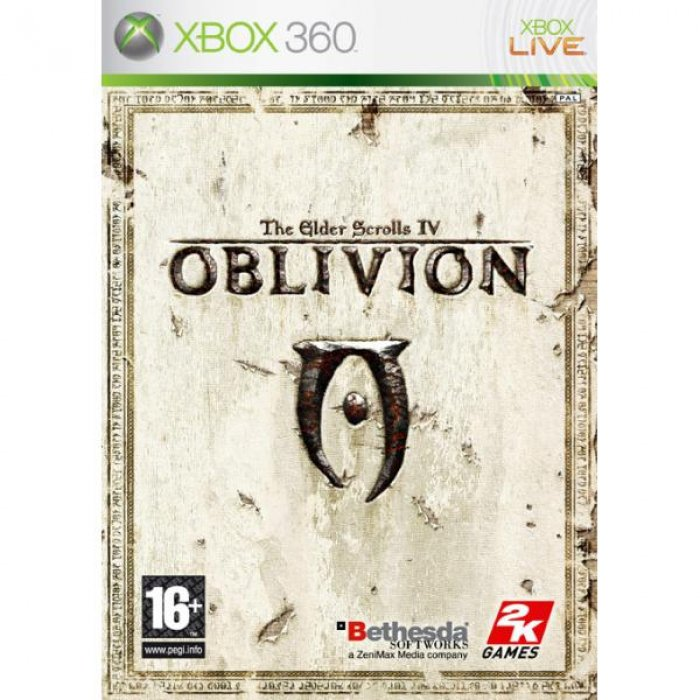 картинка The Elder Scrolls IV: Oblivion (Xbox 360, б/у, англ.) от магазина Usenextgen